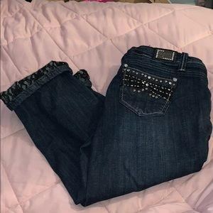 Grace cropped jeans
